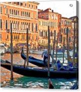 Venice Canalozzo Illuminated Acrylic Print