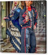 Venice Carnival Characters_dsc1364_02282017  Acrylic Print