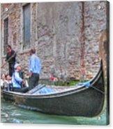 Venice Channels Acrylic Print