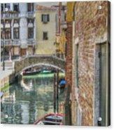 Venice Channels1  Acrylic Print