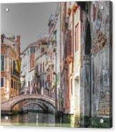 Venice Channelss Acrylic Print