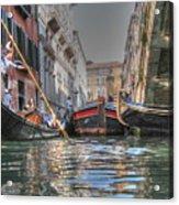 Venice Channelsss Acrylic Print