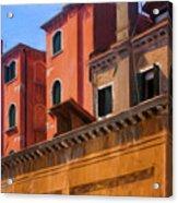 Venice Details Italy Acrylic Print