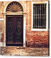 Venice Door Acrylic Print