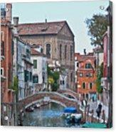 Venice Double Bridge Acrylic Print