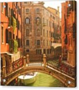 Venice Dream Acrylic Print by Denise Darby