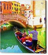 Venice Gondola Series #1 Acrylic Print