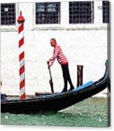 Venice Gondola Series #5 Acrylic Print