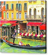 Venice Grand Canal Acrylic Print