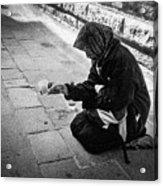Venice Gypsy Woman Acrylic Print