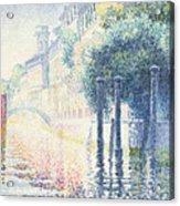 Venice Acrylic Print by Henri-Edmond Cross