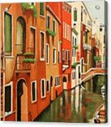 Venice In Color Acrylic Print