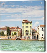 Venice In Summer  Acrylic Print