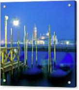 Venice Lagoon At Dusk Acrylic Print