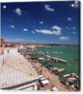 Venice Lagoon Panorama - Bird View Acrylic Print