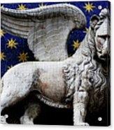 Venice Lion Acrylic Print