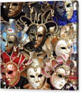 Venice Masks Acrylic Print