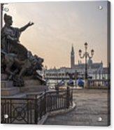 Venice - Monumento Nazionale A Vittorio Emanuele  Acrylic Print