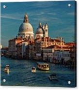 Venice Morning Traffic Acrylic Print