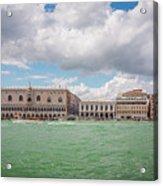 Venice Panorama Acrylic Print