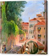 Venice Ponte Moro Acrylic Print