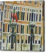Venice Scene.   Acrylic Print