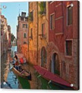 Venice Sentimental Journey Acrylic Print