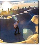 Venice Skate Park Acrylic Print