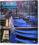 Venice Sunrise Acrylic Print by Inge Johnsson