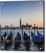 Venice - Sunset Acrylic Print