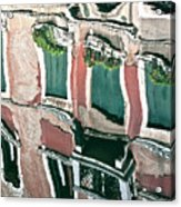 Venice Upside Down 3 Acrylic Print