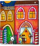 Venice Valentine Acrylic Print