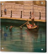 Venice Via Providence Acrylic Print