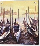 Venice Watercolor- Italy Acrylic Print