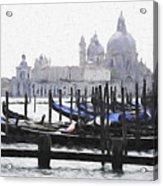 Venice Waterfront Acrylic Print