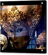 Venician Masks Acrylic Print