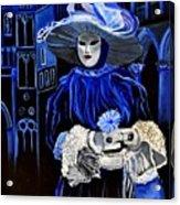 Venitian Mask  Acrylic Print