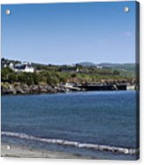 Ventry Beach And Harbor Ireland Acrylic Print