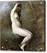 Venus Bathing Acrylic Print