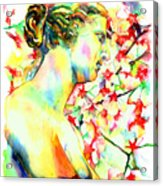 Venus De Milo Acrylic Print by Christy  Freeman