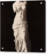 Venus De Milo Acrylic Print