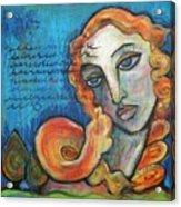 Venus Lets Go Acrylic Print