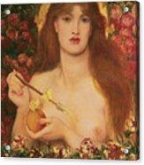 Venus Verticordia Acrylic Print by Dante Gabriel Rossetti