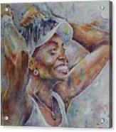 Venus Williams - Portrait 1 Acrylic Print