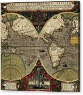 Vera Totius Expeditionis Nauticae Of 1595 Acrylic Print