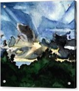 Veradero Sunset Acrylic Print