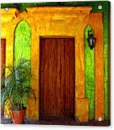 Veranda El Quilete Acrylic Print