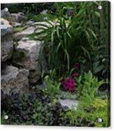 Veras Garden Acrylic Print