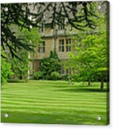 Verdant England Acrylic Print