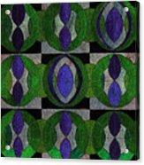 Verdant Pattern Acrylic Print